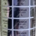 Baskılı Metalize PP Opak Etiket